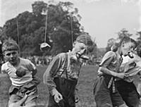Scouts at Sutton scouts jamboree . 1936