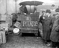 The potato shortage - J. Collins, A Patriotic gree
