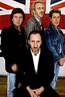 English Rock Band The Who  The primary lineup co