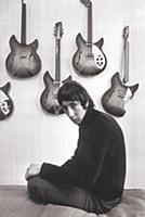 Pete Townshend at his flat in London 1966 Photogr