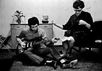 English Rock Band The Who  John Entwistle and hi