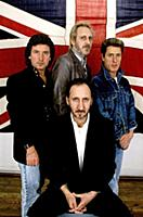 English Rock Band The Who   The primary lineup