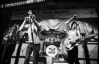 English Rock Band The Who - Manchester 1966  The