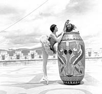 Photo by Ken Russell - June/July 1955 Teresa del