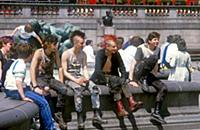 London Punks at Trafalgar Square