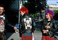Punks on the Kings Road, London