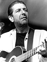 Leonard Cohen American singer 15th August 1985
