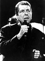 Leonard Cohen American singer / songwriter 10th