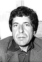 Leonard Cohen American singer / songwriter July