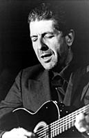 Leonard Cohen singer / songwritert August 1985
