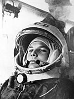 Yuri Gagarin first cosmonaut in the world is going