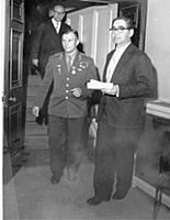 Yuri Gagarin at the SCR, 14 Kensington Square, 13
