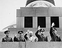 Gherman Titov, Yuri Gagarin, Nikita Khrushchev, An