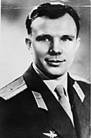 Yuri Gagarin.
