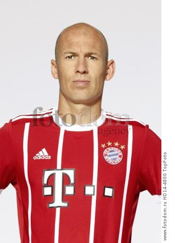 August 2017, Munich, Germany;  German Bundesliga, official photocall FC Bayern Munich for season 2017/18 in Munich, Germany: Arjen Robben.