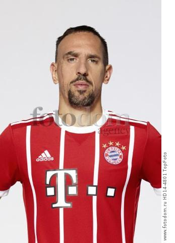 August 2017, Munich, Germany;  German Bundesliga, official photocall FC Bayern Munich for season 2017/18 in Munich, Germany: Franck Ribery.