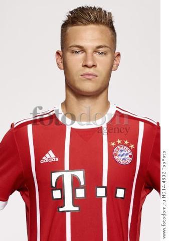 August 2017, Munich, Germany;  German Bundesliga, official photocall FC Bayern Munich for season 2017/18 in Munich, Germany: Joshua Kimmich.