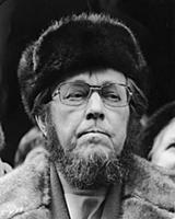 Alexander Isayevich Solzhenitsyn, Russian author,
