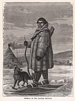 Житель Якутской провинции. Гравюра из A Popular Hi