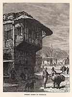 Уличная сцена в Эрзеруме. Гравюра из A Popular His