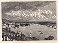 Город Буда (Будапешт). Гравюра из A Popular Histor