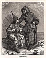 Киргизские татары. Гравюра из A Popular History Of