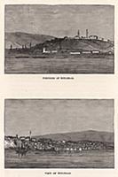 Белград и крепость Калемегдан. Гравюра из A Popula