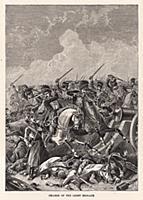 Атака лёгкой бригады британской кавалерии во время