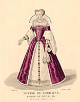 Луиза Лотарингская (1553–1601)–супруга Генриха III