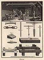Каретная мастерская. Изготовление колёс, инструмен