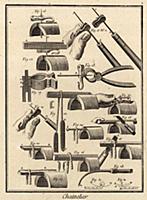 Мастерская по изготовлению цепей. Инструменты (Иве