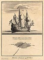 Морской флот. Судно под названием 'флюст'. (Ивердо