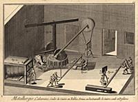 Металлургия. Цинковая кремнистая руда, отливка мед