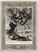 Беллерофонт убивает Химеру (лист известной работы