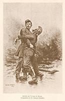 Гибель при исполнении служебного долга (с картины