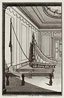 Каркас кровати в стиле pококо. Johann Jacob Schueb