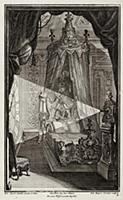 Интерьер pококо. Спальня. Johann Jacob Schueblers