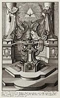 Купель для крещения по католическому обряду. Johan