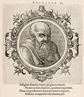 Сократ (ок. 469–399 гг. до н. э.) (лист 10 иллюстр