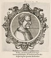 Платон (428/427–348/347 гг. до н.э.) (лист 12 иллю