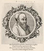 Пифагор Самосский (570–490 гг. до н.э.) (лист 7 ил