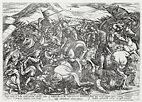 Битва израильтян против амалекитян (из работы Test