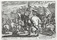 Моисей приказывает атаковать Эфиопию (из работы Te