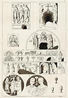 Раннехристианские росписи в римских катакомбах (из