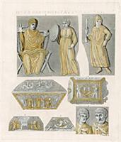 Туалет римской дамы раннего Средневековья и предме