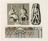 Одеяния и украшения Оттона I Великого (из знаменит