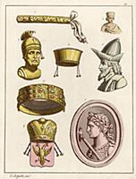 Портрет императора Константина I Великого–первого