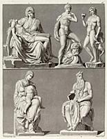 Скульптуры Микеланджело (из знаменитой работы Джул