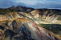 Риолитовые горы Ландманналаугар ( Landmannalaugar