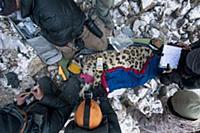 Snow Leopard (Panthera uncia) biologist, Shannon K